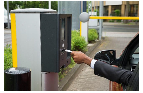 License Plate Scanner >> Parking Barrier | Gate Systems and Ticket Dispensers ...